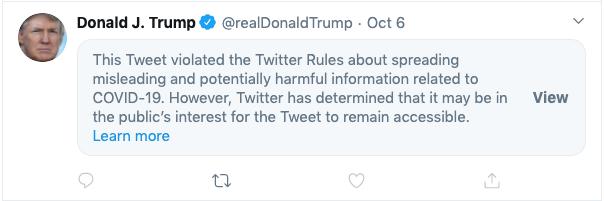 trump censored
